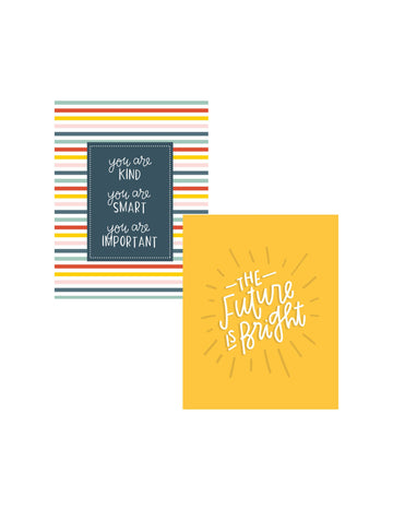 DOUBLE PACK  Back to School Kindness Art Prints