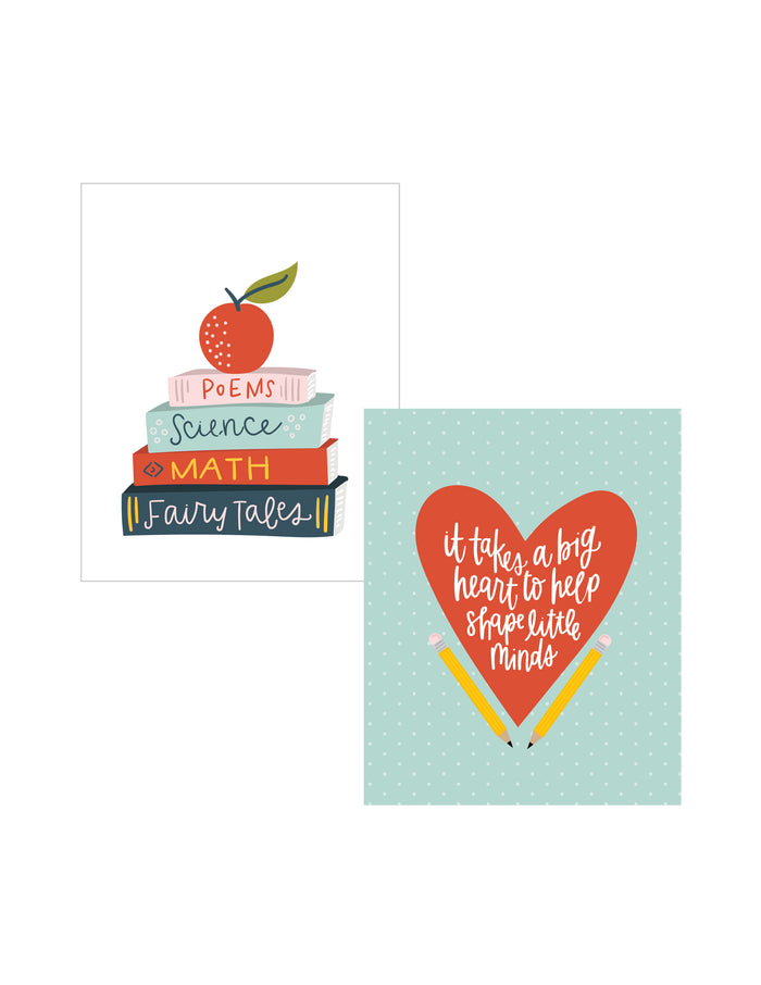 DOUBLE PACK Teacher Art Prints