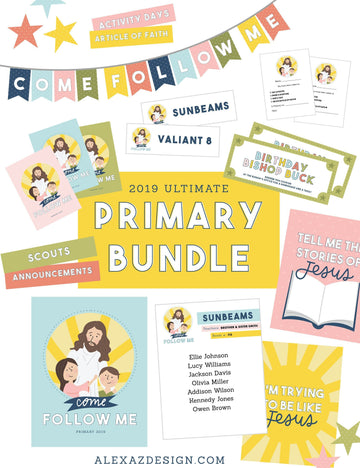 Primary 2019 Printables