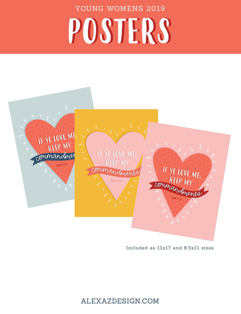 Young Womens 2019 Ultimate Printable Bundle