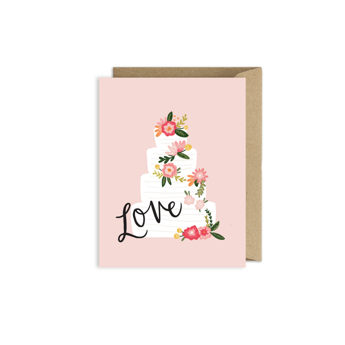 Wedding Cake Love Card