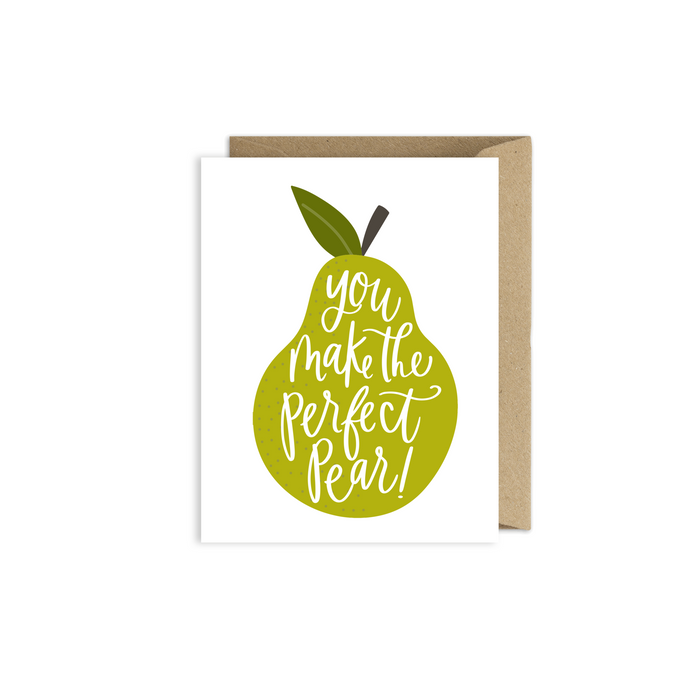 Perfect Pear Card