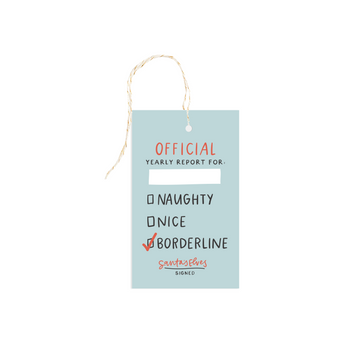 naughty or nice gift tag