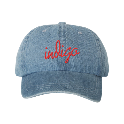 Denim Indigo Hat