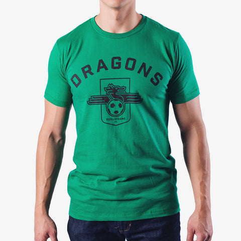 Dragons FC - Kelly Green T-Shirt