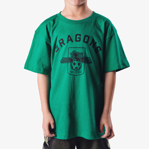 Kid's - Dragons FC Kelly Green T-shirt
