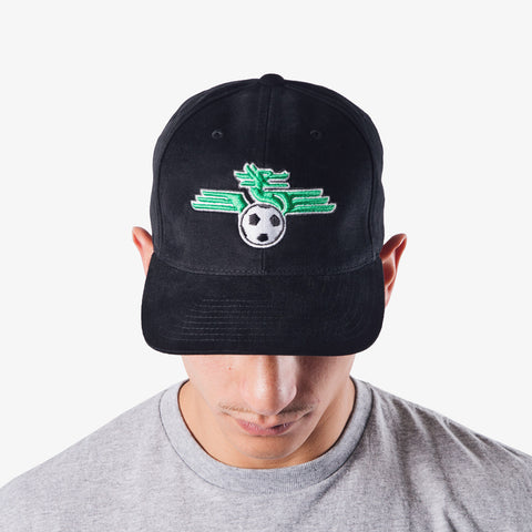 Dragons FC Hat - Black Logo Velcro Cap
