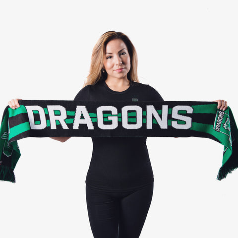 Burlingame Dragons FC Scarf
