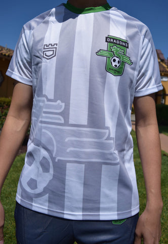 Burlingame Dragons FC Official 2016 Jersey - White
