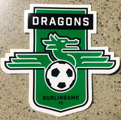 Burlingame Dragons FC - Bumper Sticker