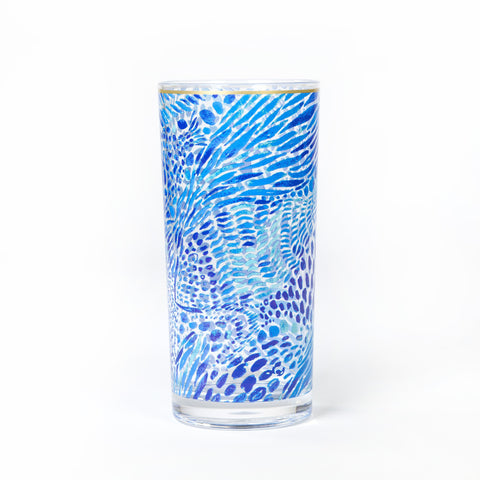Blue Tang Gang Hi-Ball Glasses