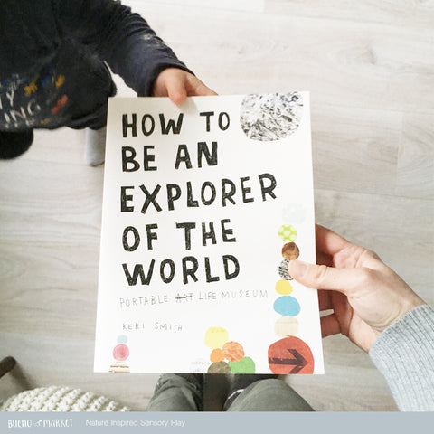 How to be an explorer of the world book by Keri Smith