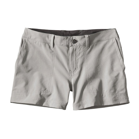 Patagonia Women's Happy Hike Shorts Drifter Grey