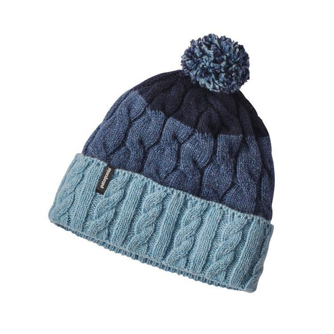 Copy of Patagonia Women's Pom Beanie - Glacier Stripe: Tubular