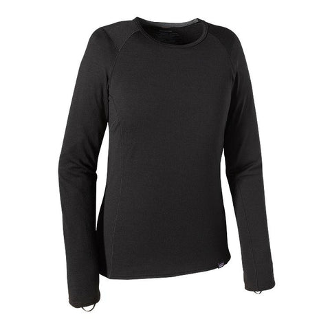 Patagonia Women's Merino Thermal Weight Crew Black