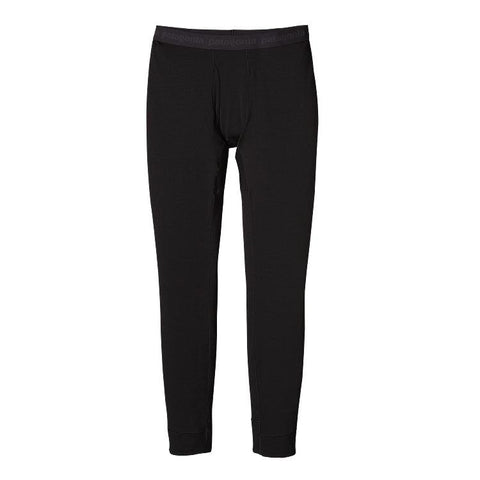 Patagonia Men's Merino Thermal Weight Bottoms Black