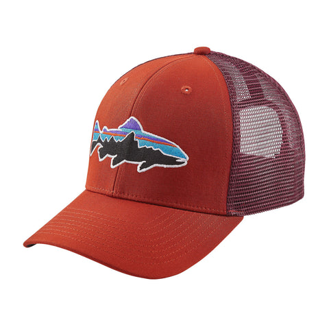 Patagonia Fitz Roy Trout Trucker Hat - Roots Red