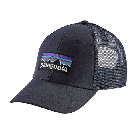 Patagonia P-6 LoPro Trucker Hat - Navy Blue w/Navy Blue
