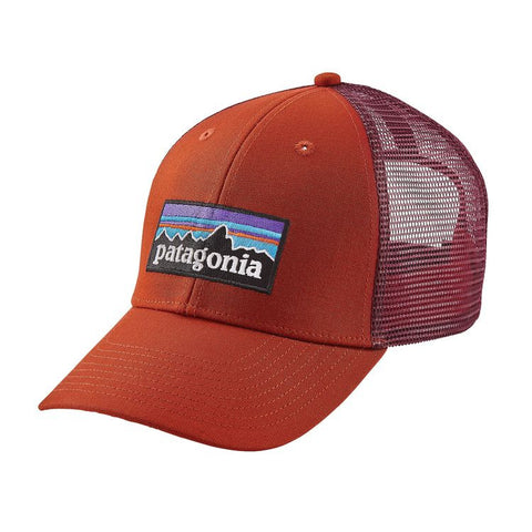 Patagonia P-6 LoPro Trucker Hat - Roots Red