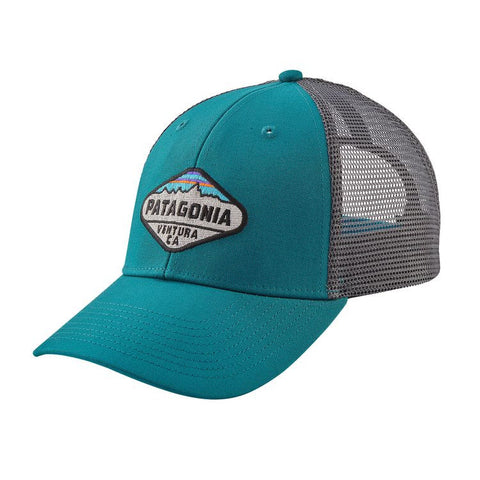 Patagonia Fitz Roy Crest LoPro Trucker Hat - Elwha Blue