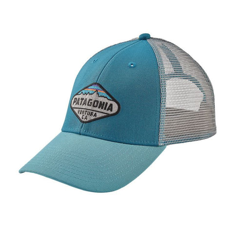 Patagonia Fitz Roy Crest LoPro Trucker Hat - Filter Blue