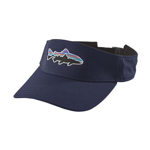 Patagonia Fitz Roy Trout Visor Navy Blue