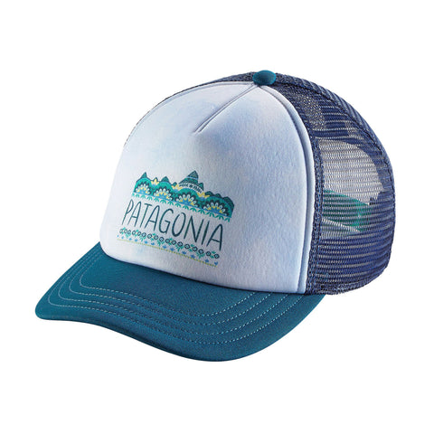 Patagonia Women's Femme Fitz Roy Interstate Hat Big Sur Blue