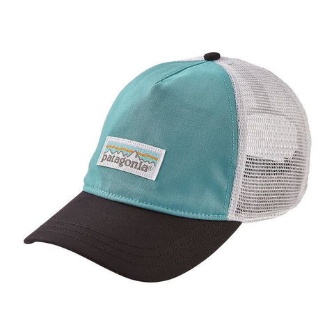 Patagonia Women's Pastel P-6 Label Layback Trucker Hat - Crevasse Blue
