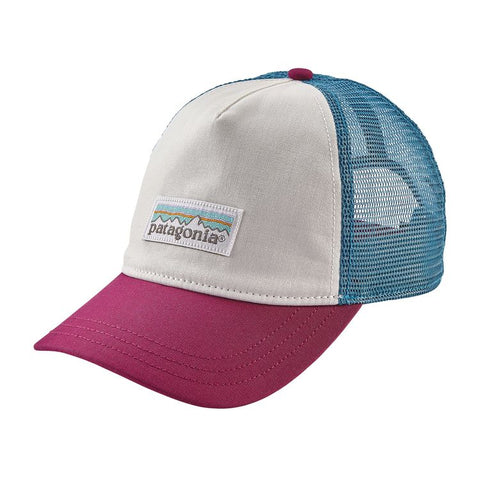 Patagonia Women's Pastel P-6 Label Layback Trucker Hat - White