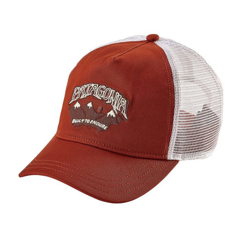 Patagonia Women's Hazy Peak Layback Trucker Hat - Roots Red