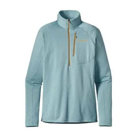 Patagonia Women's R1® Fleece Pullover Tubular Blue