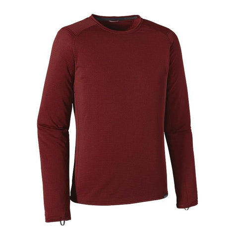Patagonia Men's Capilene® Thermal Weight Crew Oxblood Red