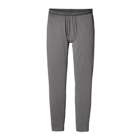 Patagonia Men's Capilene® Midweight Bottoms Forge Grey - Feather Grey X-Dye