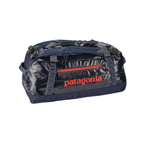 Patagonia Black Hole™ Duffel 60L - Navy Blue w/Paintbrush Red