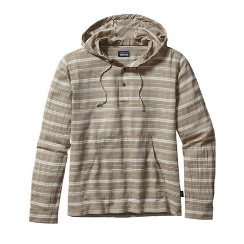 Patagonia Men's Steersman Hoody Sundown: Ash Tan