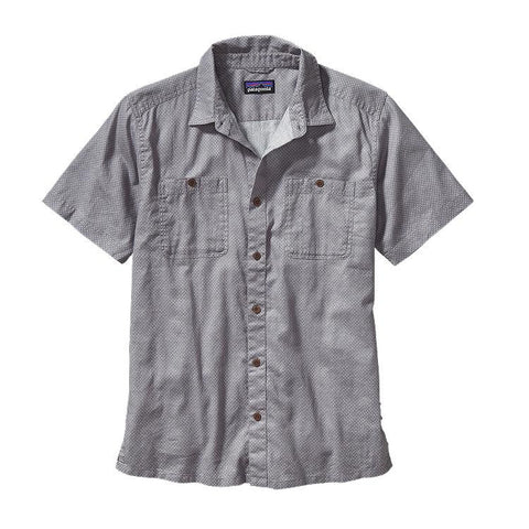 Patagonia Men's Back Step Shirt Fisher: Drifter Grey