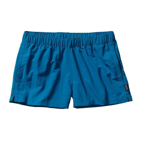 "Patagonia Women's Barely Baggies Shorts - 2 1/2"" Bandana Blue"