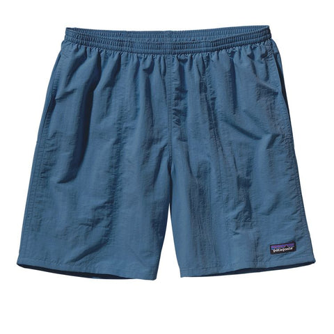 "Patagonia Men's Baggies Longs - 7"" Glass Blue"