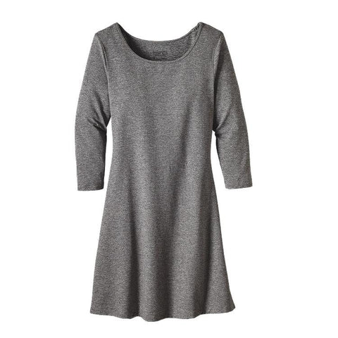 Patagonia Women's 3/4 Sleeved Seabrook Dress Drifter Grey