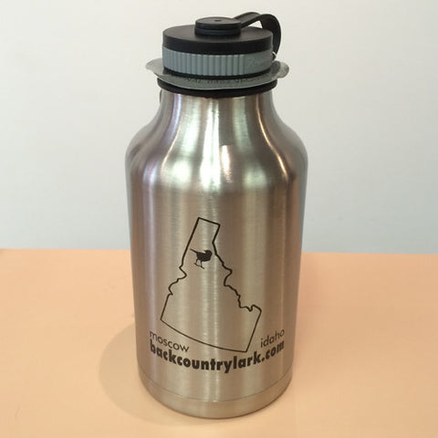64 oz Hydro Flask Beer Growler - Shop Logo