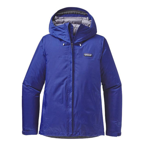 Patagonia Women's Insulated Torrentshell Jacket Harvest Moon Blue