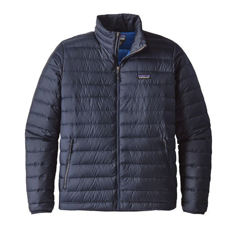 Patagonia Men's Down Sweater - Navy Blue w/Navy Blue