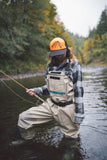 Classic Trout Old School Trucker Hat - H&H Outfitters In Action