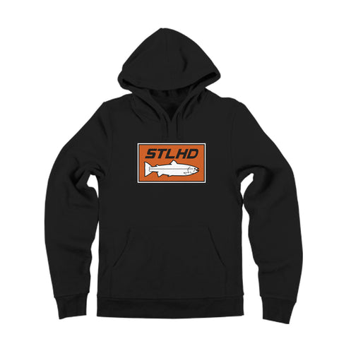 STLHD Black Hoodie - H&H Outfitters Front