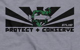 Protect and Serve STLHD Tee - H&H Outfitters Detail