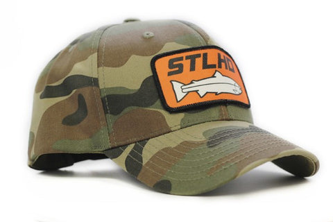 STLHD Full Back Camo Hat - H&H Outfitters
