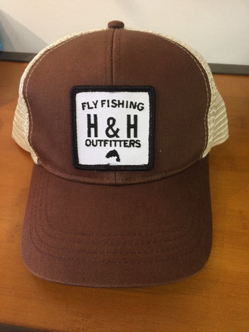 H&H Fly Corps Brown Trucker Hat - H&H Outfitters