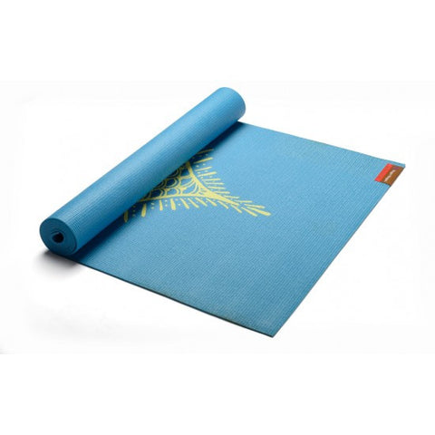 Hugger Mugger Gallery Collection Yoga Mat Blue Henna