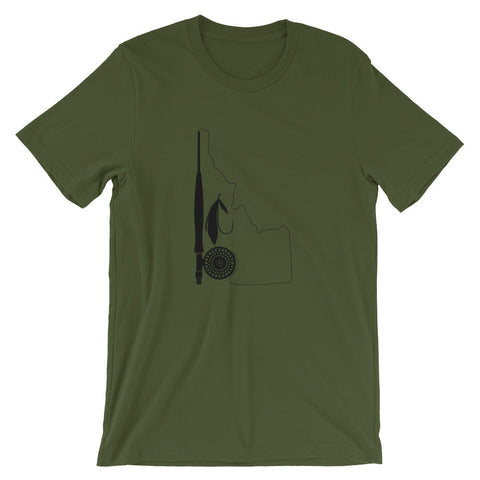 Idaho Fly Line Shop Shirt - Dark
