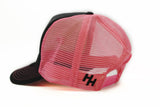 "STLHD ""Team STLHD"" Pink Old School Trucker Hat Back - H&H Outfitters"